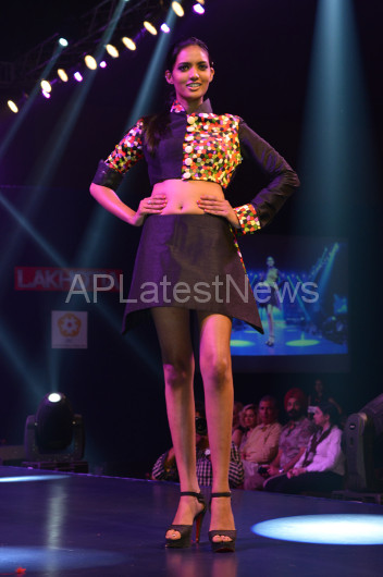 Sultry models set the ramp on fire - Lakhotia Annual Fashion Show, Hyderabad, Telangana, India - Picture 26