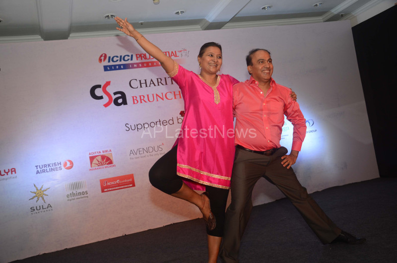 Sandip Soparrkar Performs at Fund Raising Art Auction for CSA, Mumbai, Maharashtra, India - Picture 5
