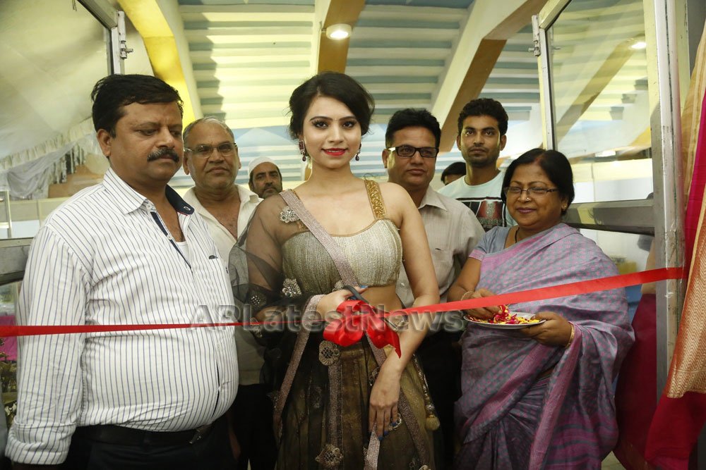 Acress Priyanka Ramana Launches National Silk Expo at Hyderabad - Picture 7