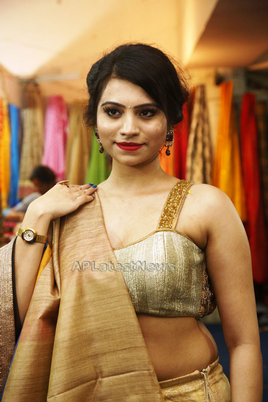 Acress Priyanka Ramana Launches National Silk Expo at Hyderabad - Picture 10