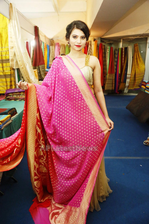 Acress Priyanka Ramana Launches National Silk Expo at Hyderabad - Picture 14
