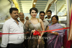 Acress Priyanka Ramana Launches National Silk Expo at Hyderabad - News