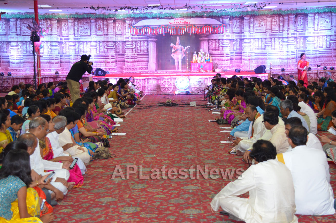 SiliconAndhra celebrations of Annamacharya birthday, Sunnyvale, CA, USA - Picture 3