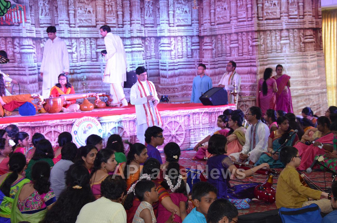 SiliconAndhra celebrations of Annamacharya birthday, Sunnyvale, CA, USA - Picture 5
