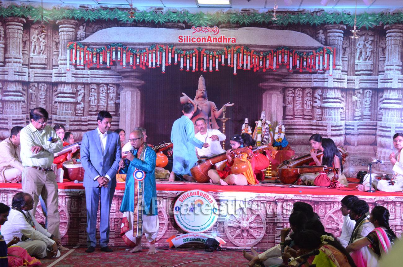 SiliconAndhra celebrations of Annamacharya birthday, Sunnyvale, CA, USA - Picture 4