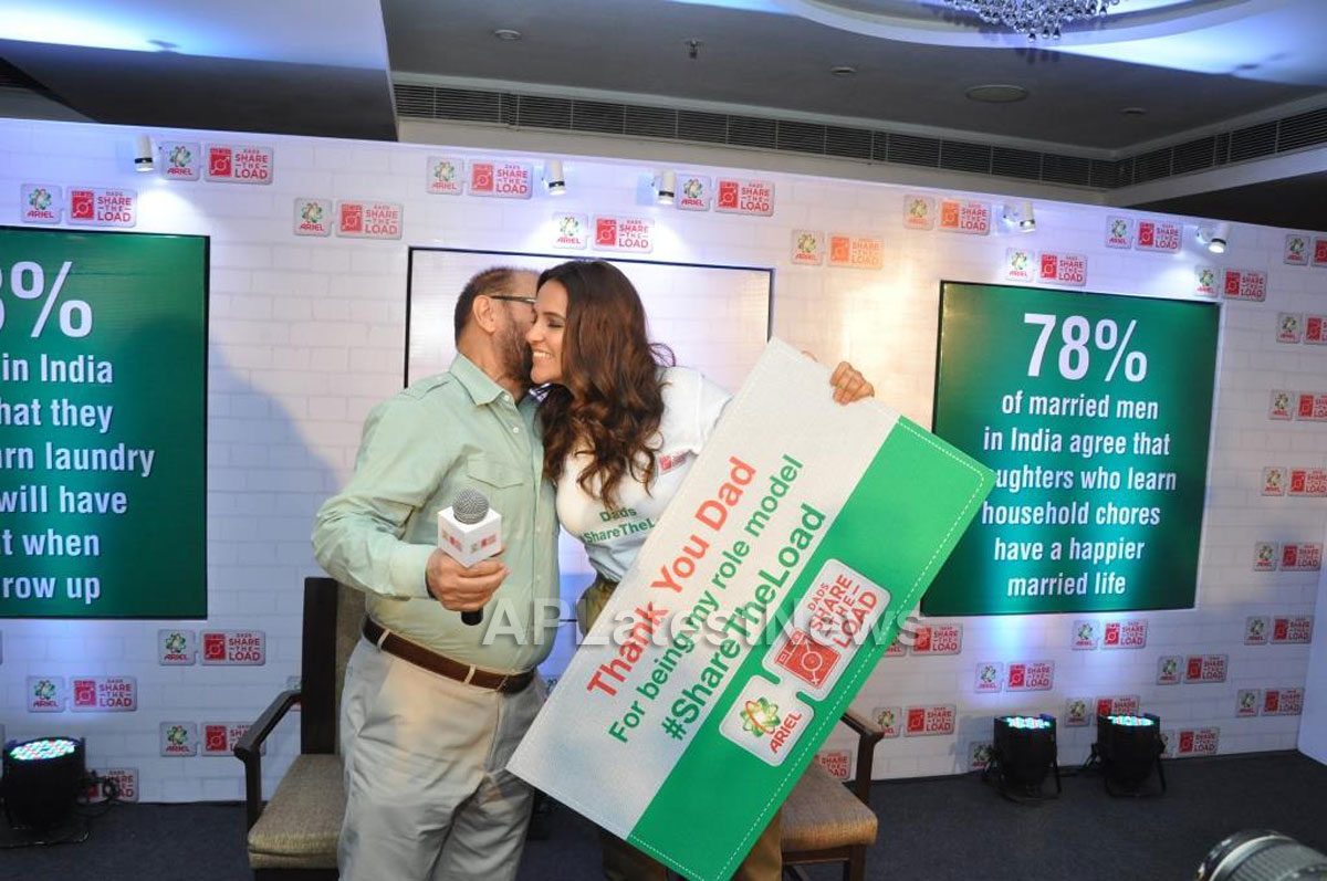 Neha Dhupia and Dad join the movement, with actress attributing her success to her parents - Picture 3