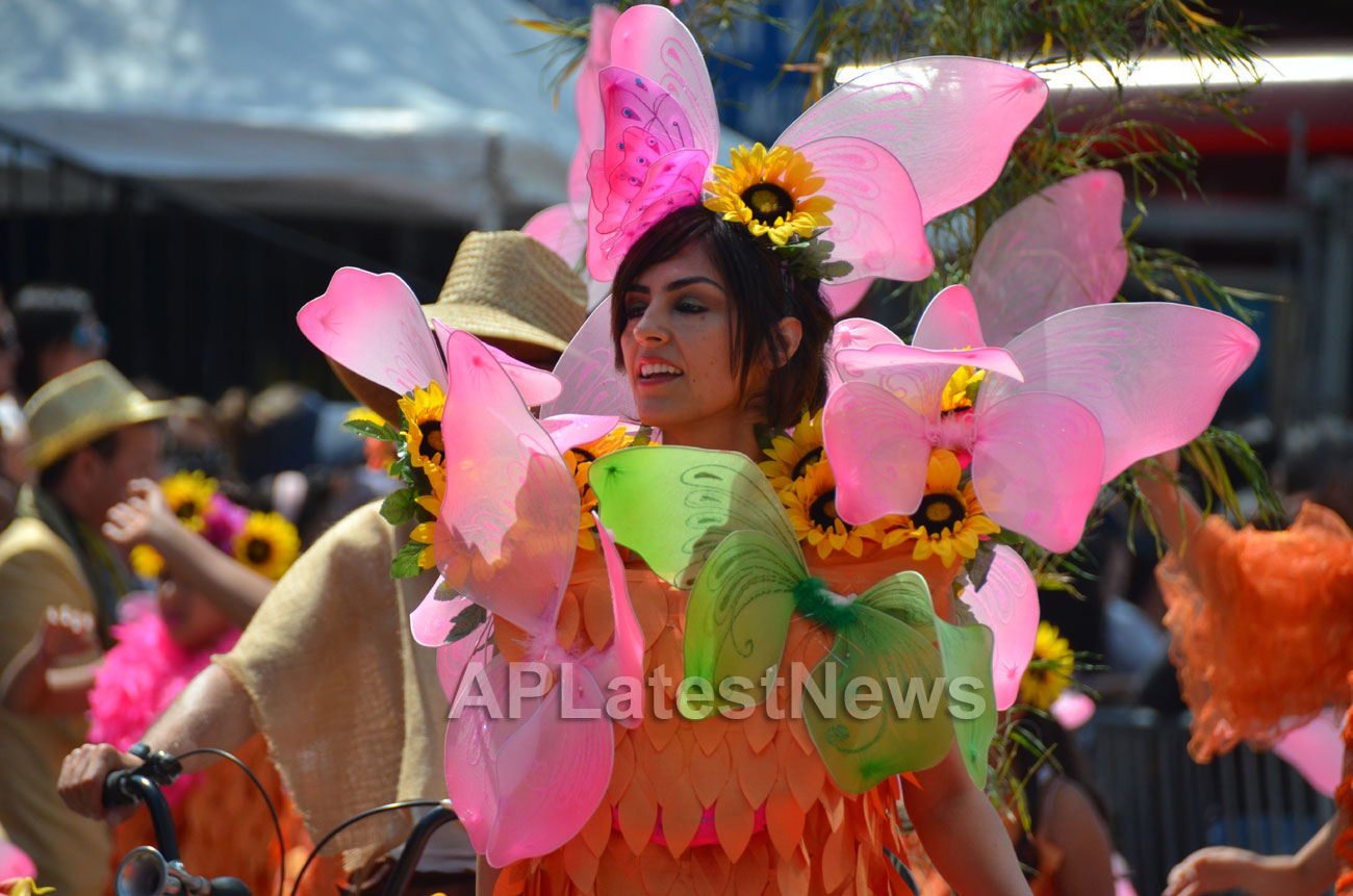 Carnaval Grand Parade at Mission District, San Francisco, CA, USA - Picture 13