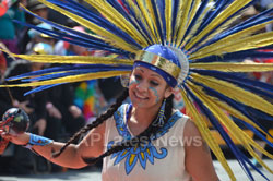 Carnaval Grand Parade at Mission District, San Francisco, CA, USA - News