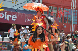 Carnaval Grand Parade at Mission District, San Francisco, CA, USA - Picture 12