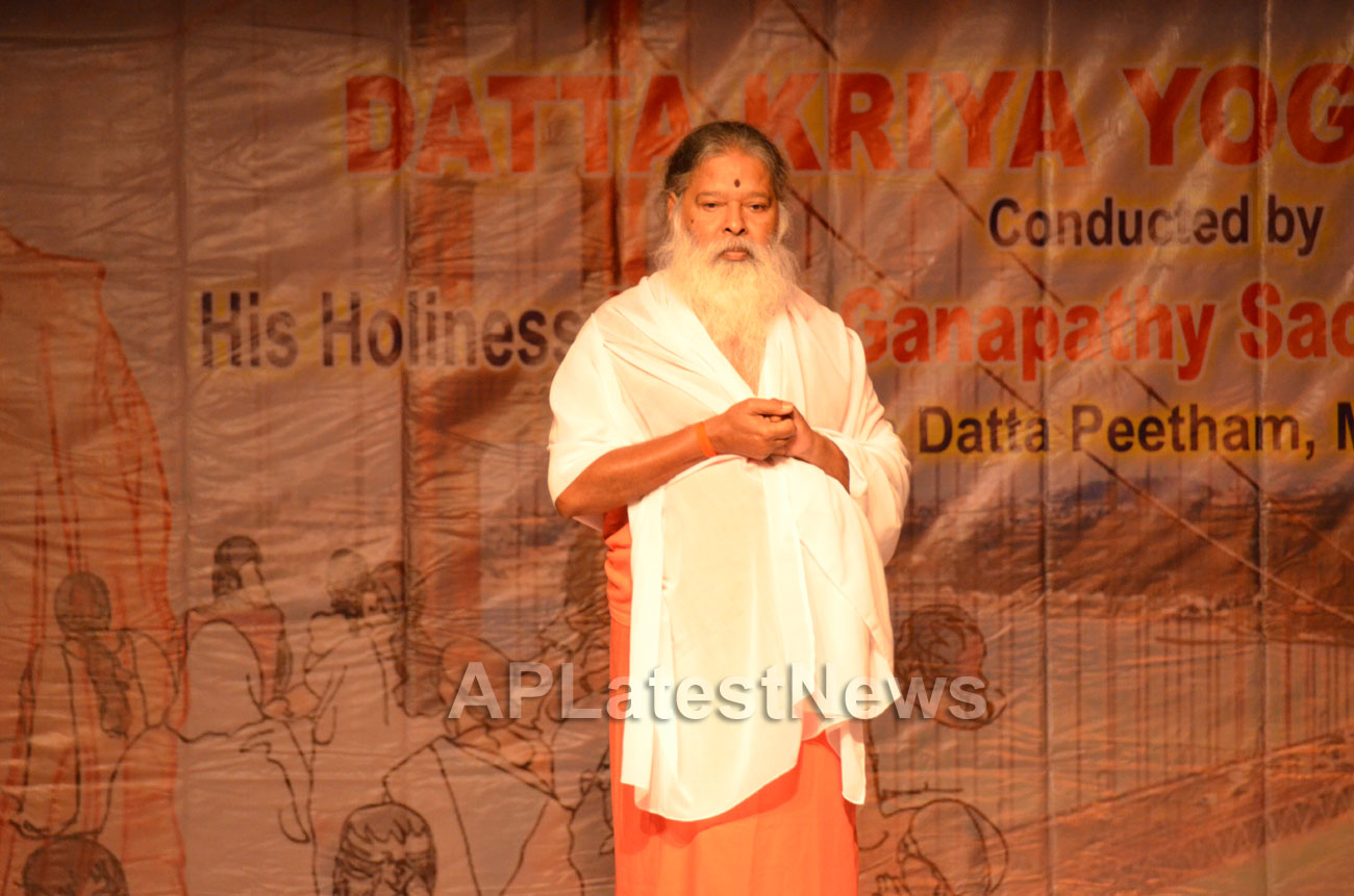 Datta Kriya Yoga Session - Guinness World Record, Milpitas, CA, USA - Picture 2