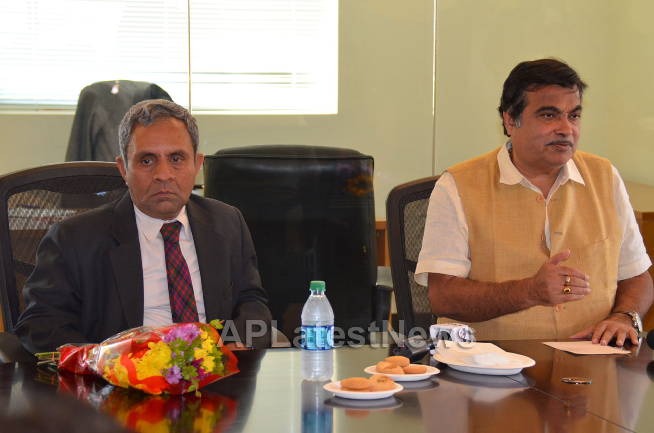 Media Conference by Shri Nitin Gadkari in Bay area, Fremont, CA, USA - Picture 6