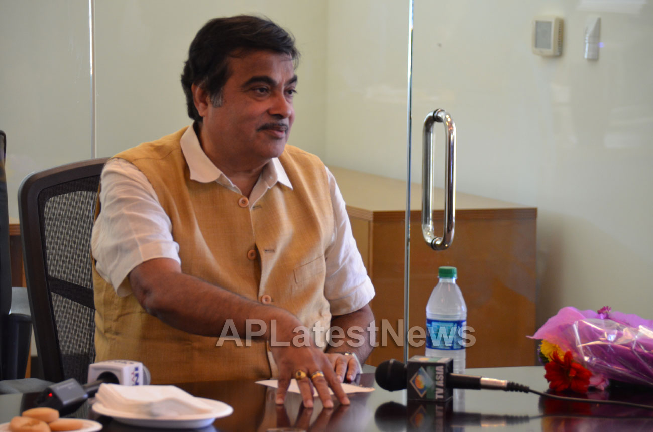 Media Conference by Shri Nitin Gadkari in Bay area, Fremont, CA, USA - Picture 15