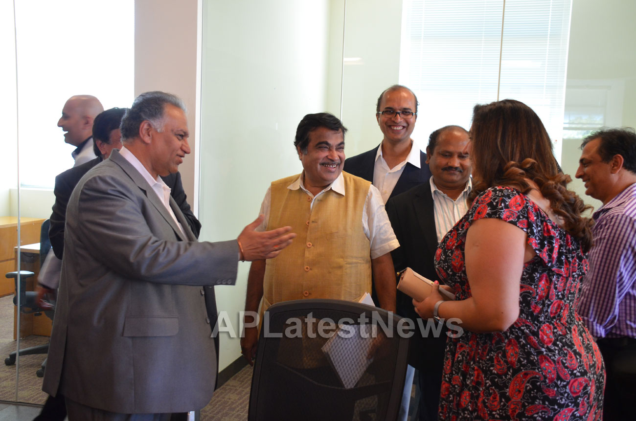 Media Conference by Shri Nitin Gadkari in Bay area, Fremont, CA, USA - Picture 22