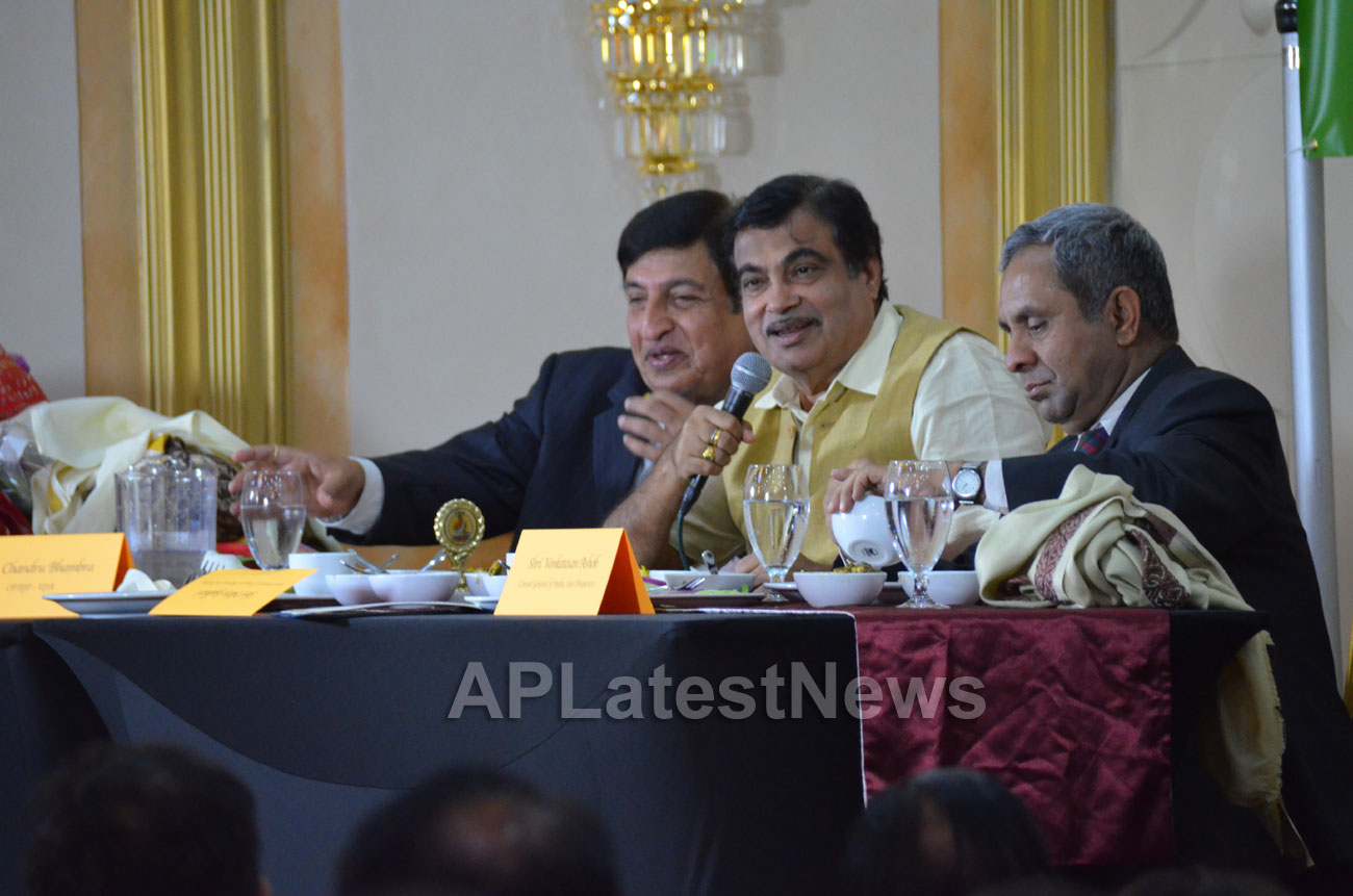 Media Conference by Shri Nitin Gadkari in Bay area, Fremont, CA, USA - Picture 10