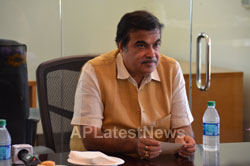 Media Conference by Shri Nitin Gadkari in Bay area, Fremont, CA, USA - Picture 8