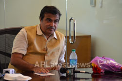 Media Conference by Shri Nitin Gadkari in Bay area, Fremont, CA, USA
