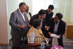 Media Conference by Shri Nitin Gadkari in Bay area, Fremont, CA, USA - Picture 1