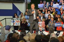 Campaign visit of Hillary Clinton - La Escuelita School, Oakland, CA, USA - Picture 7