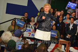 Campaign visit of Hillary Clinton - La Escuelita School, Oakland, CA, USA - Picture 3
