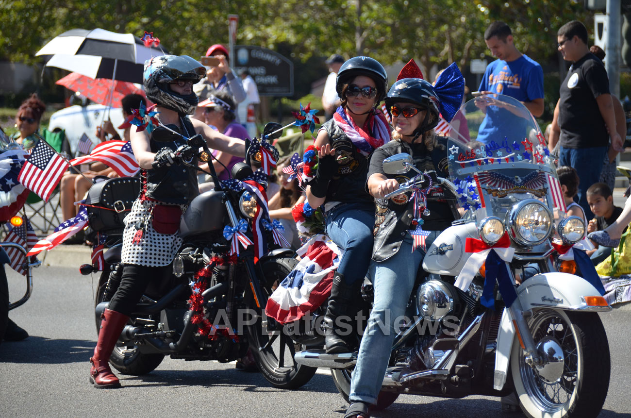July 4th Parade - Independence Day, Fremont, CA, USA - Picture 7