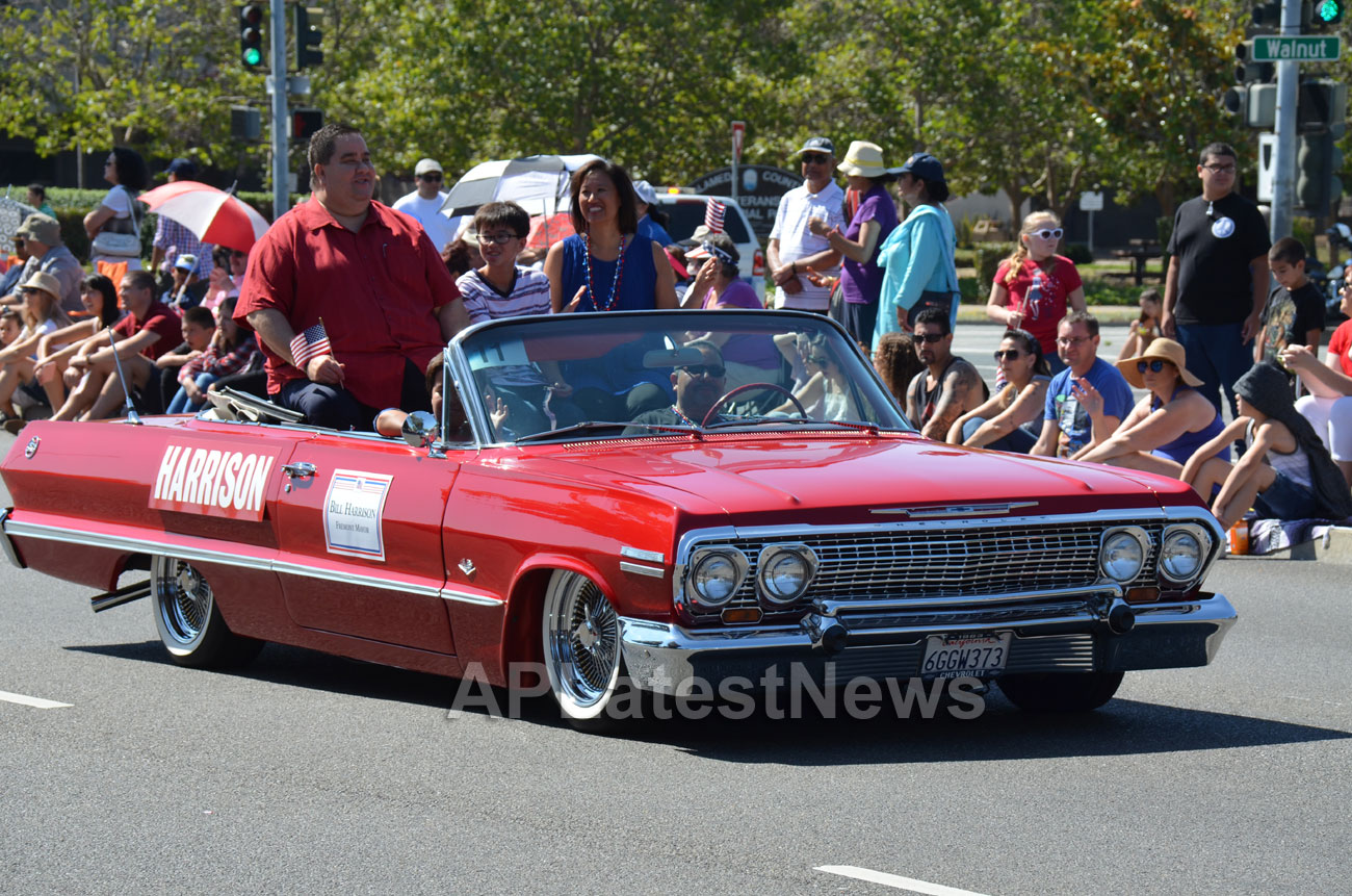 July 4th Parade - Independence Day, Fremont, CA, USA - Picture 4