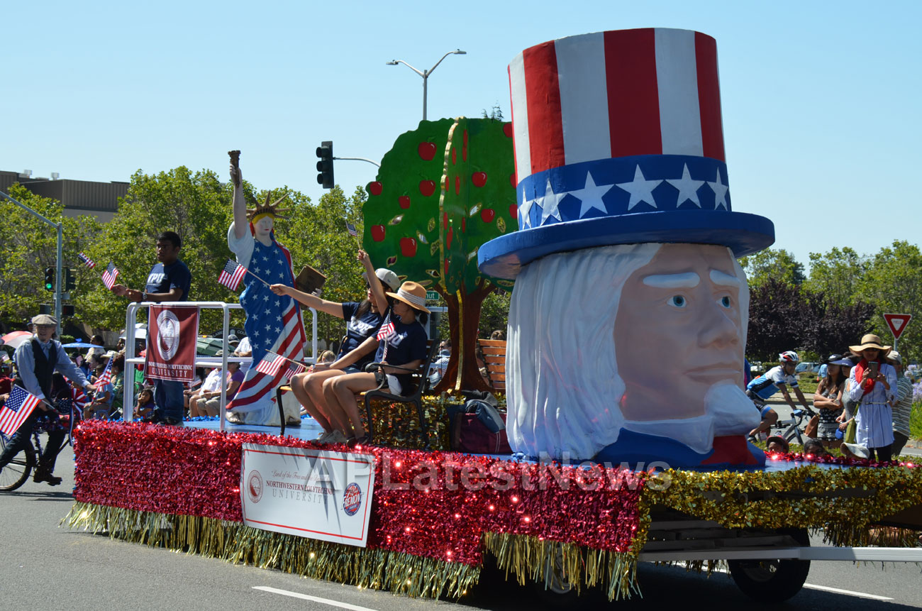 July 4th Parade - Independence Day, Fremont, CA, USA - Picture 23