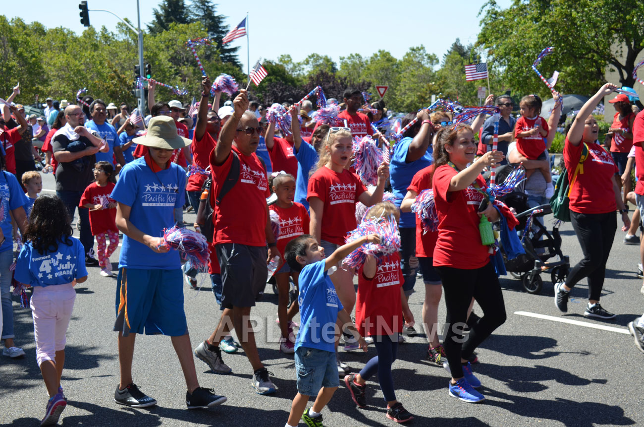 July 4th Parade - Independence Day, Fremont, CA, USA - Picture 5