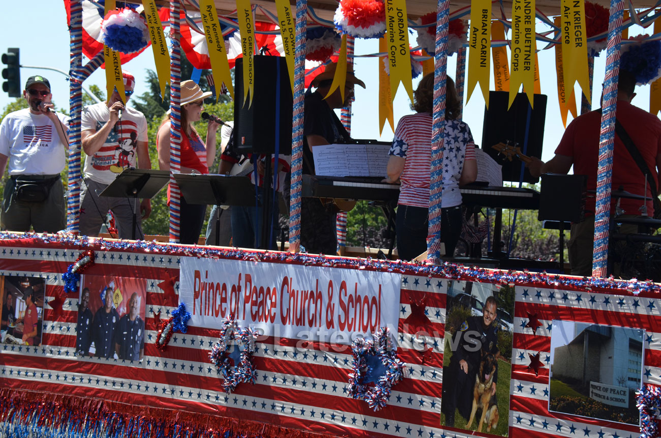 July 4th Parade - Independence Day, Fremont, CA, USA - Picture 25