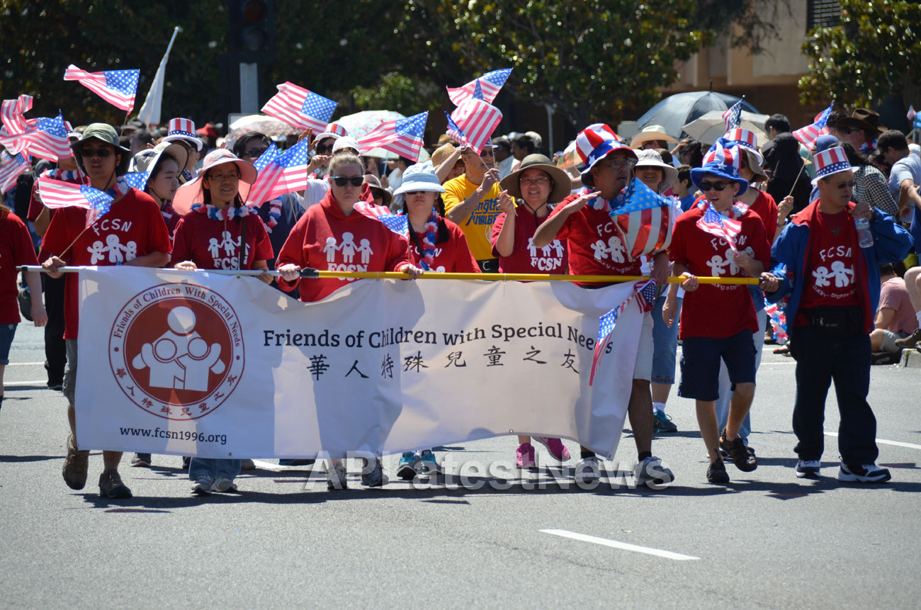 July 4th Parade - Independence Day, Fremont, CA, USA - Picture 9