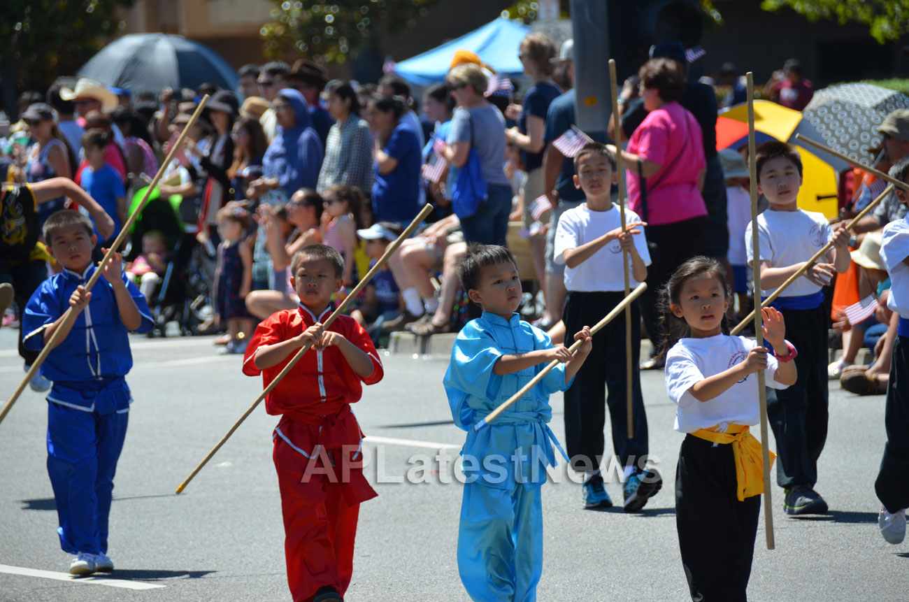 July 4th Parade - Independence Day, Fremont, CA, USA - Picture 26