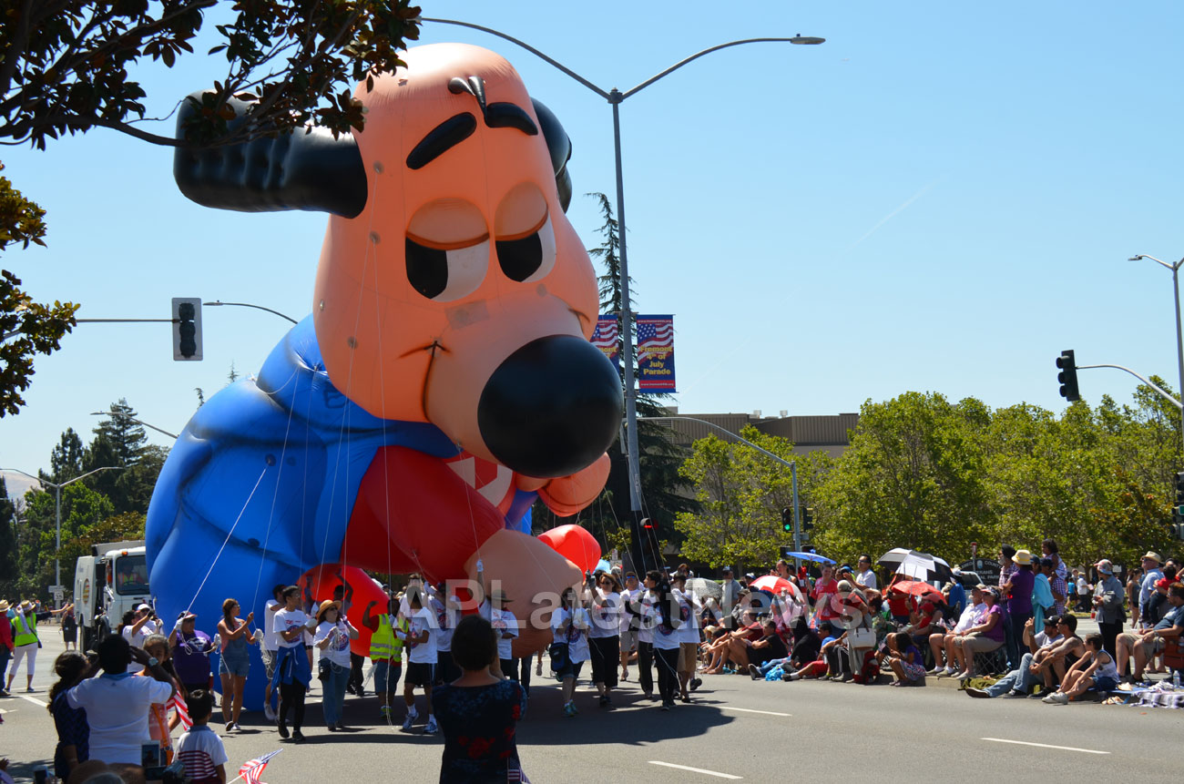 July 4th Parade - Independence Day, Fremont, CA, USA - Picture 13