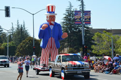 July 4th Parade - Independence Day, Fremont, CA, USA