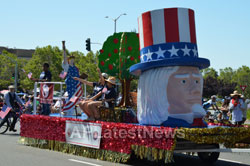 July 4th Parade - Independence Day, Fremont, CA, USA - News