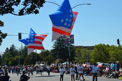 July 4th Parade - Independence Day, Fremont, CA, USA - Picture 22