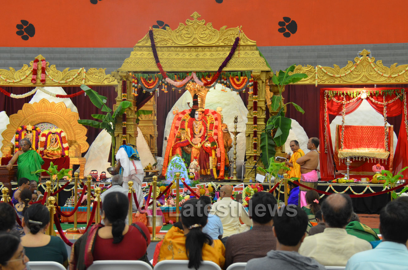 Kailasa Vaibhavotsavam by HCCC at Washington High School, Fremont, CA, USA - Picture 3