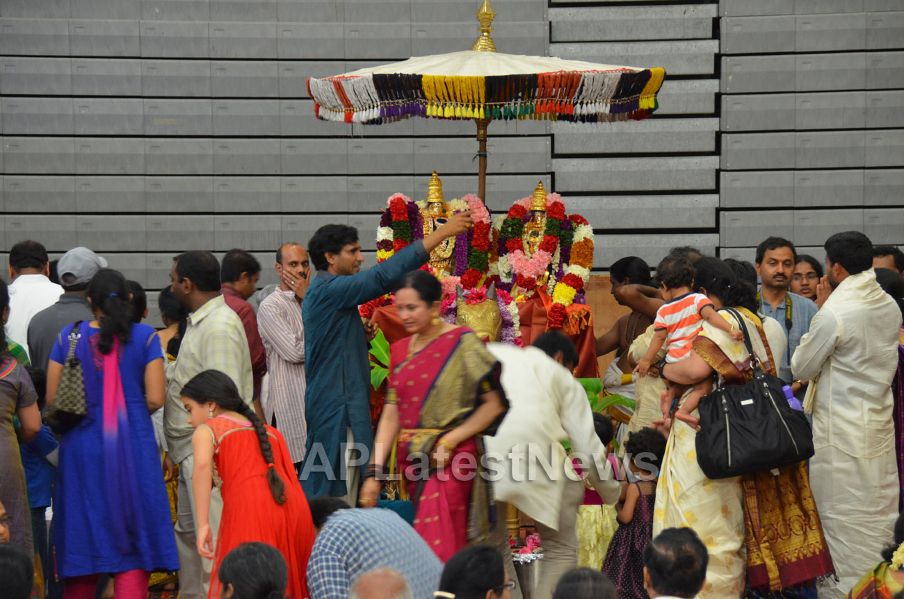 Kailasa Vaibhavotsavam by HCCC at Washington High School, Fremont, CA, USA - Picture 5