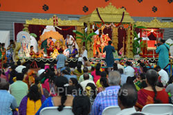 Pictures of Kailasa Vaibhavotsavam by HCCC at Washington High School, Fremont, CA, USA