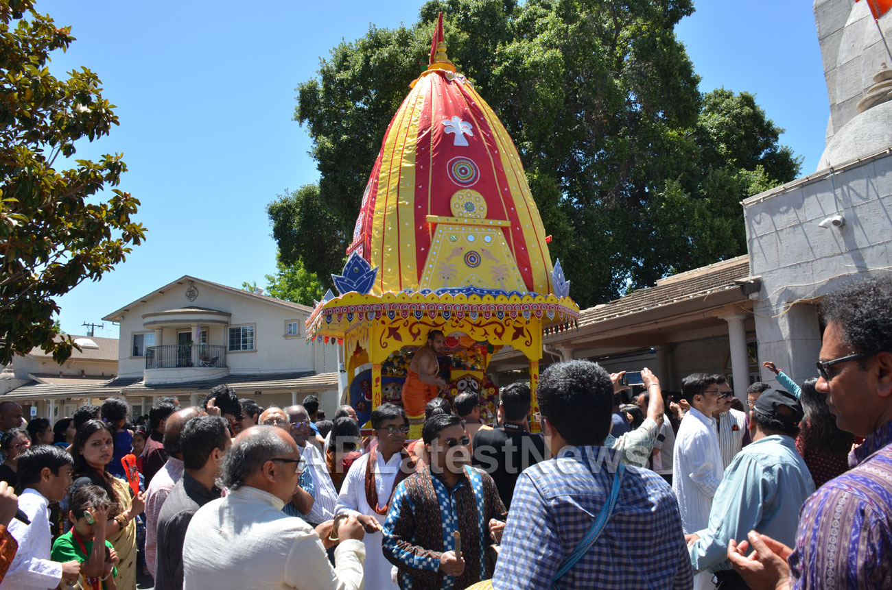 Grand Jagannath Rath Yathra - Fremont Hindu Temple, Fremont, CA, USA - Picture 3