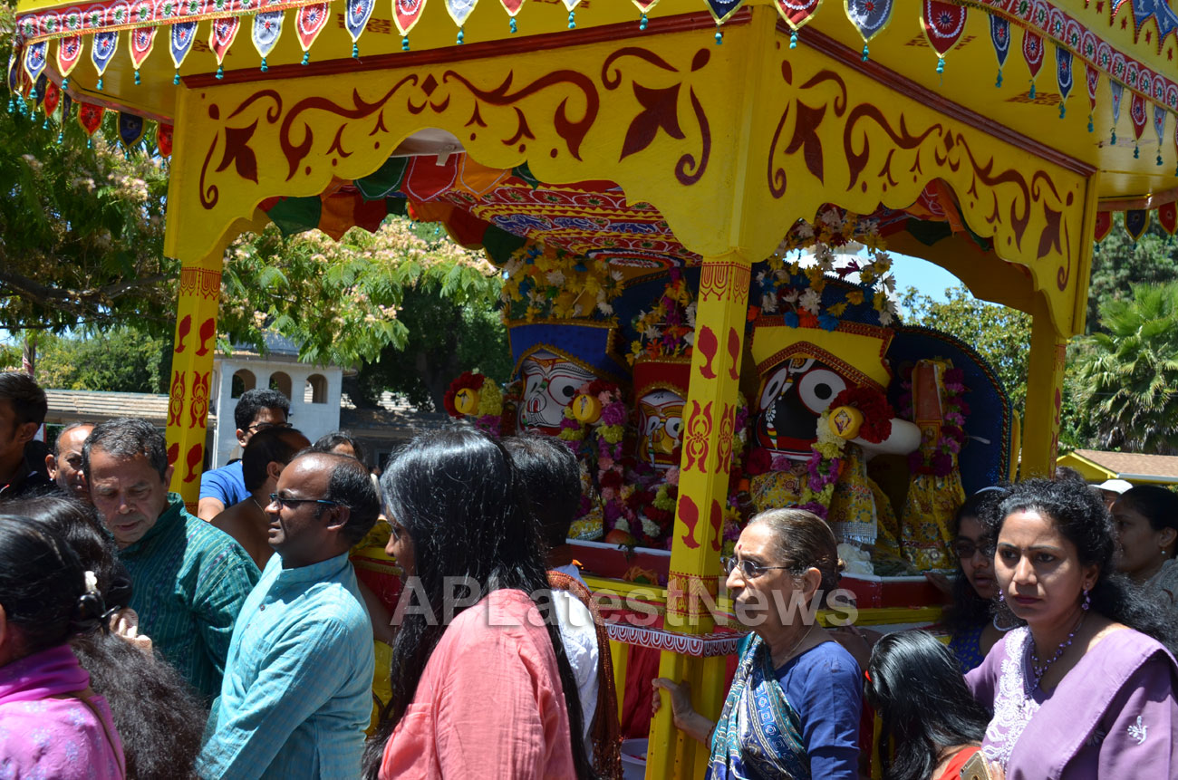 Grand Jagannath Rath Yathra - Fremont Hindu Temple, Fremont, CA, USA - Picture 4