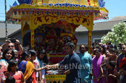 Grand Jagannath Rath Yathra - Fremont Hindu Temple, Fremont, CA, USA - Picture 2