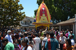 Grand Jagannath Rath Yathra - Fremont Hindu Temple, Fremont, CA, USA - Picture 7