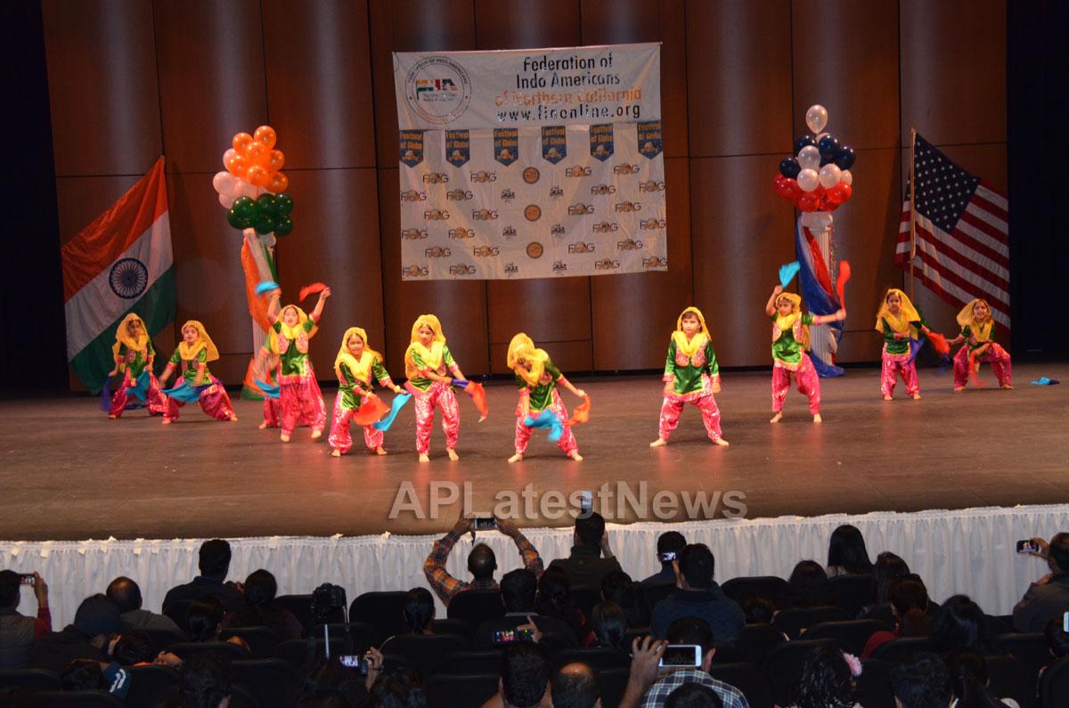 India Republic Day Celebration by FOG at McAfee Center, Saratoga, CA, USA - Picture 8