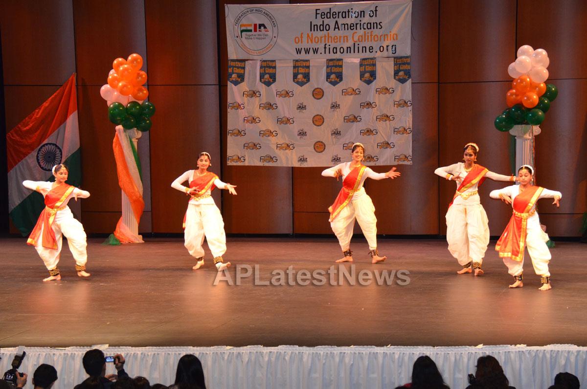 India Republic Day Celebration by FOG at McAfee Center, Saratoga, CA, USA - Picture 9