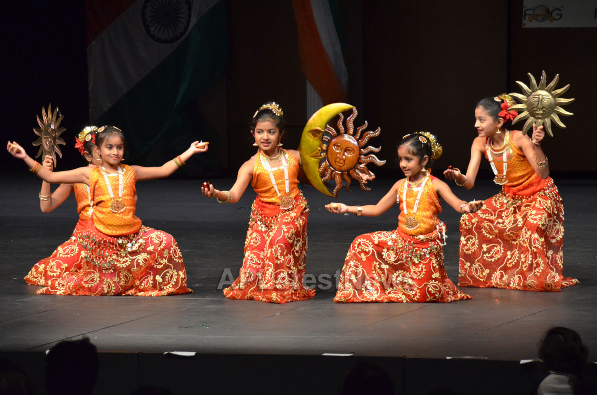 India Republic Day Celebration by FOG at McAfee Center, Saratoga, CA, USA - Picture 4