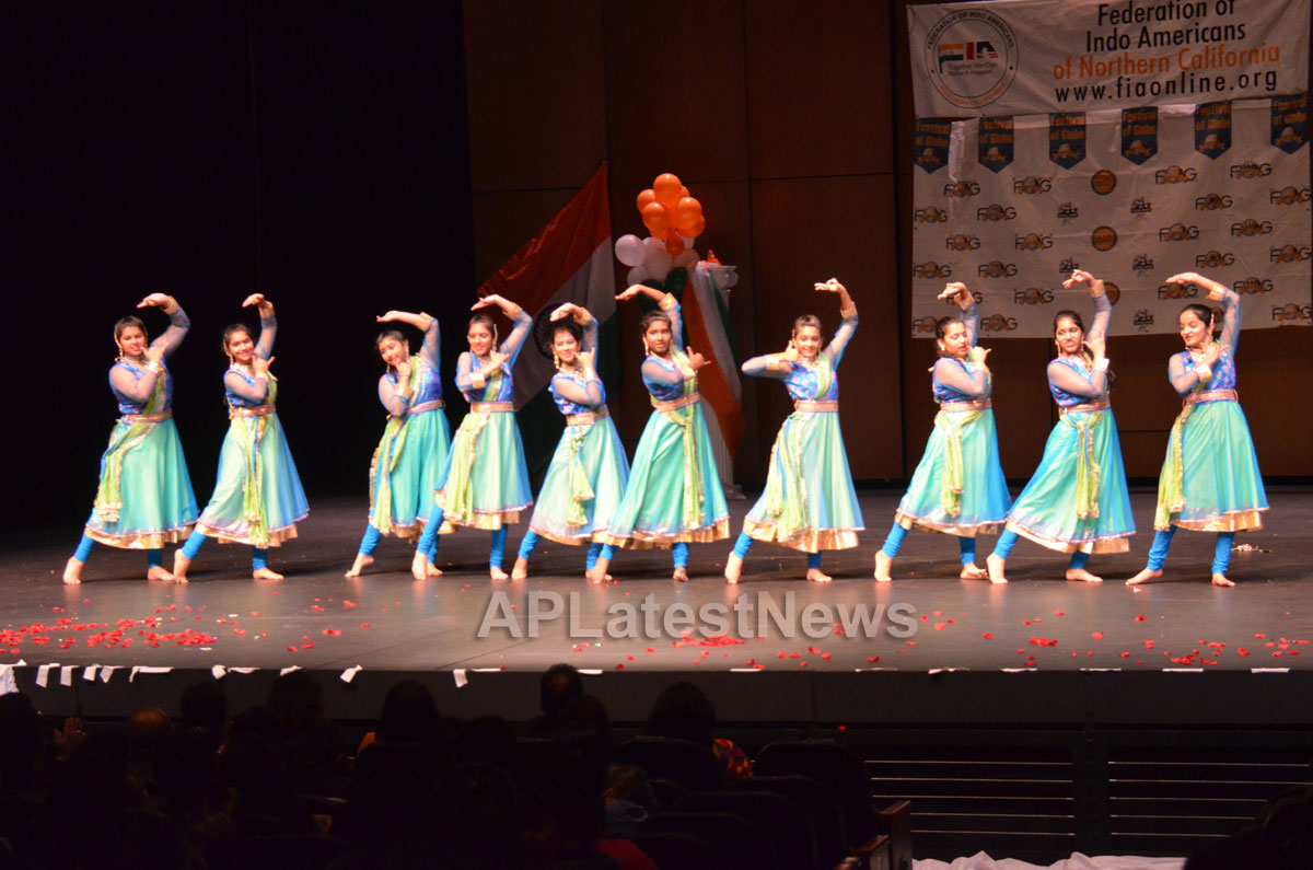 India Republic Day Celebration by FOG at McAfee Center, Saratoga, CA, USA - Picture 7