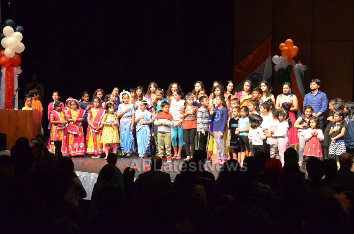 India Republic Day Celebration by FOG at McAfee Center, Saratoga, CA, USA - Picture 11
