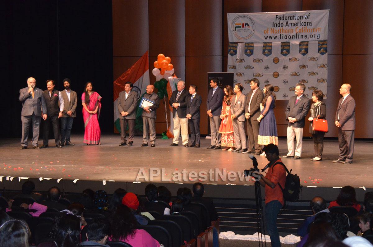 India Republic Day Celebration by FOG at McAfee Center, Saratoga, CA, USA - Picture 1