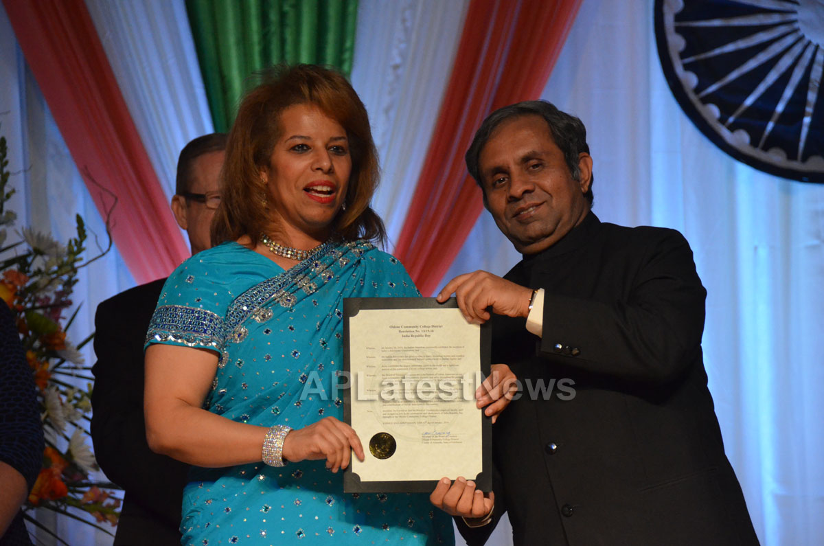 Indian Republic Day Celebration by SF Consul General at ICC, Milpitas, CA, USA - Picture 5