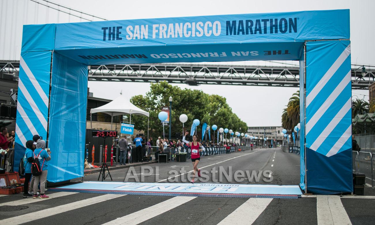 Bay Area runners dominate 39th San Francisco Marathon, San Francisco, CA, USA - Picture 10
