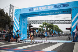 Pictures of Bay Area runners dominate 39th San Francisco Marathon, San Francisco, CA, USA